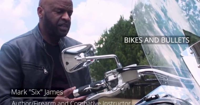 Bikes and Bullets Mark James