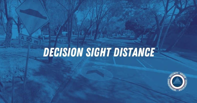 Decision Sight Distance
