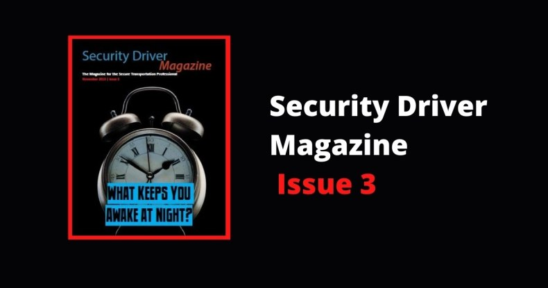 Security Driver Magazine Issue 3