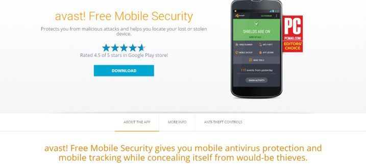 Free Avast Download Security Mobile