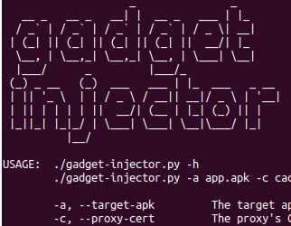 SSL pinning bypass with frida-gadget (gadget-injector py