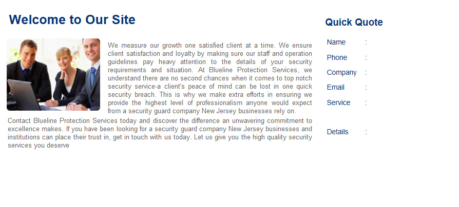 Security Company Scotch Plains Nj, Security Guards, Armed