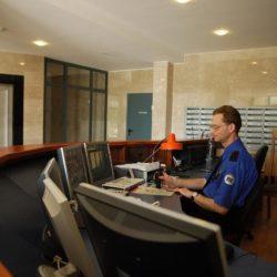 Lobby Office Building Security