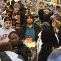 Retail Checkout Line