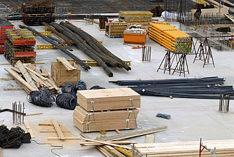 Materials Theft at Construction Site