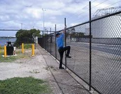 security fence perimeter