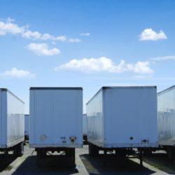 trailers behind perimeter