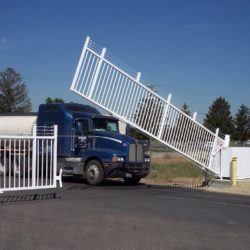truck security entrance