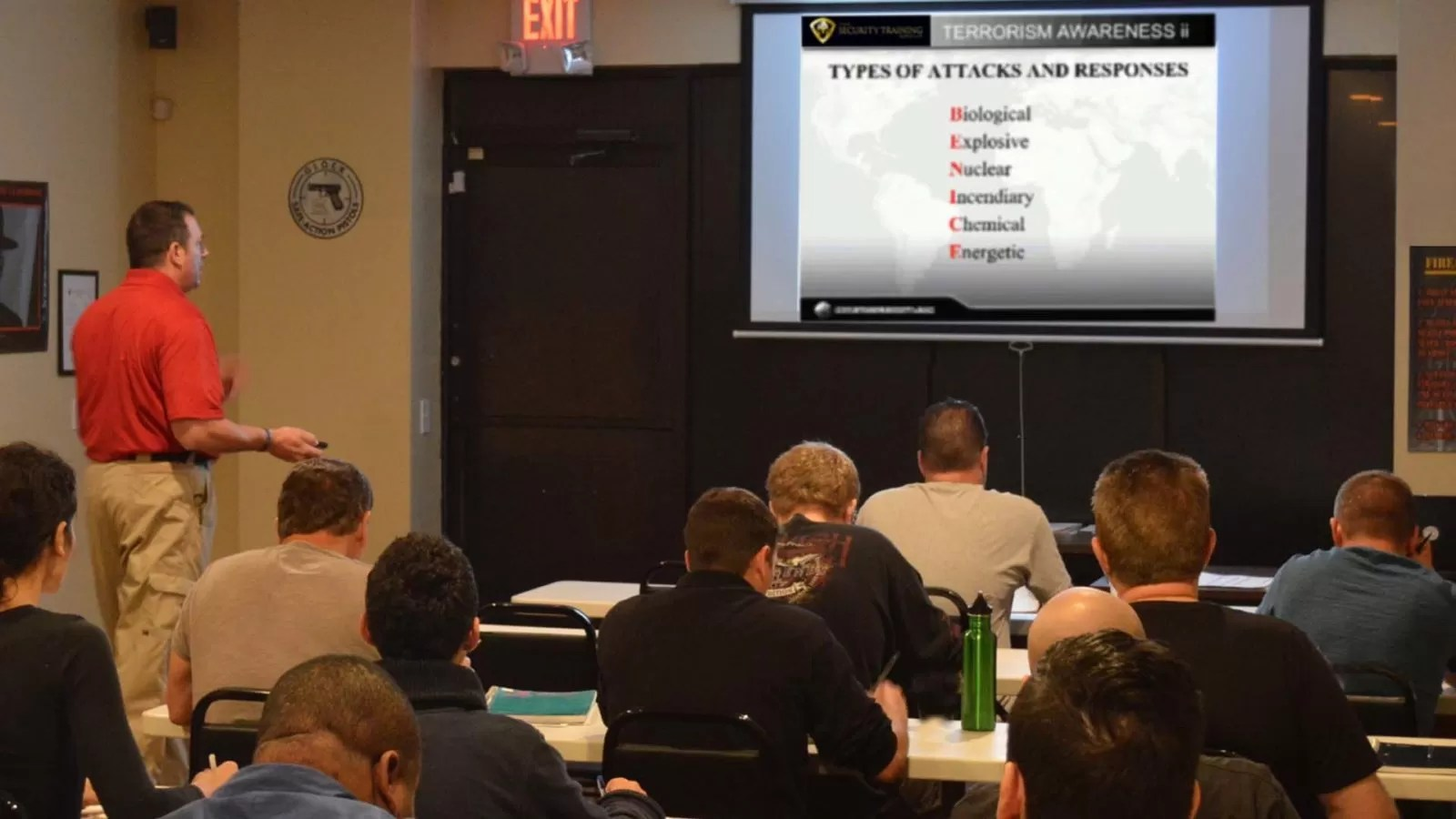Security Guard License Training