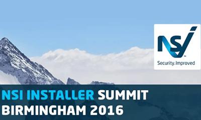 NSI Installer Summit 2016 – 10th March Birmingham