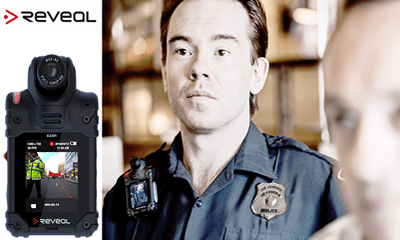 Alabama police fitted with Reveal RS2-X2 body cameras