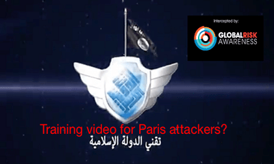 ISIS Paris attackers training video?