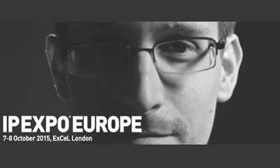 Edward Snowden joins line-up at IP EXPO Europe 2015