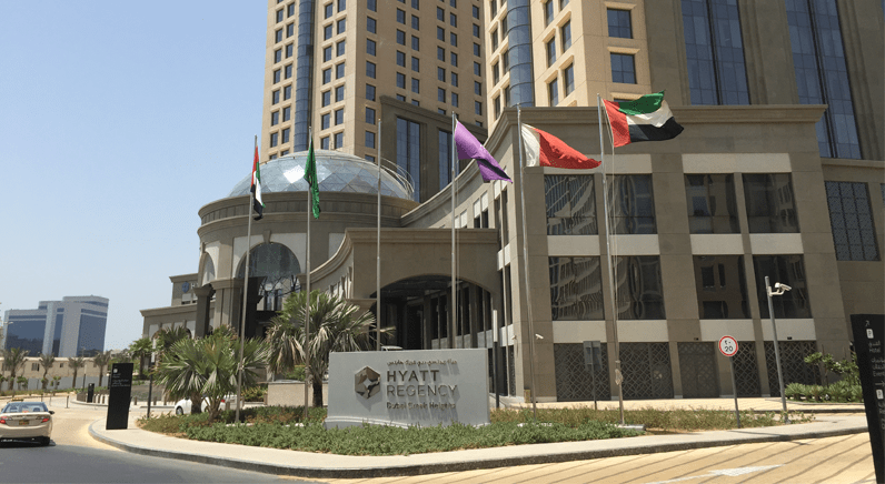 Aperio® solution perfect fit for Hyatt Regency Hotel, Dubai
