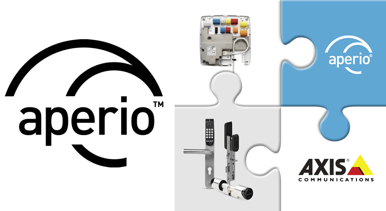 New Aperio® integration with AXIS Network Door Controller