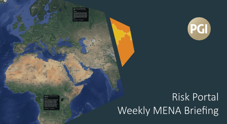 PGI's Risk Portal Weekly MENA Briefing - 23 September 2016