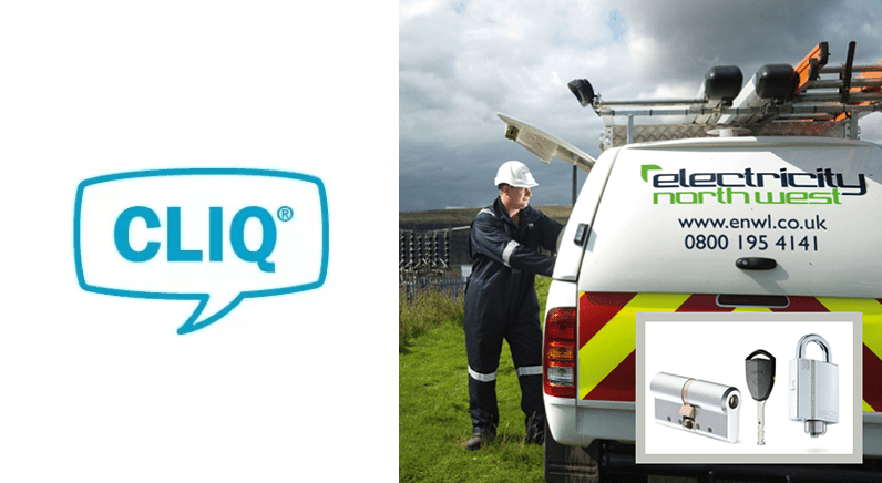 CLIQ® provides access control to Electricity North West customers