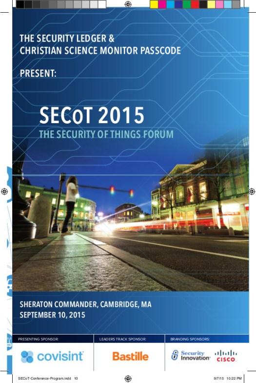 SECoT-Conference-Program-2015