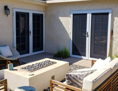 multiple french door security screens by security plus