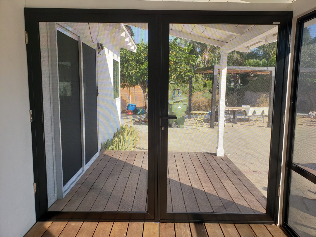 French Door Security Screens keep you and your loved ones safe from criminal activity
