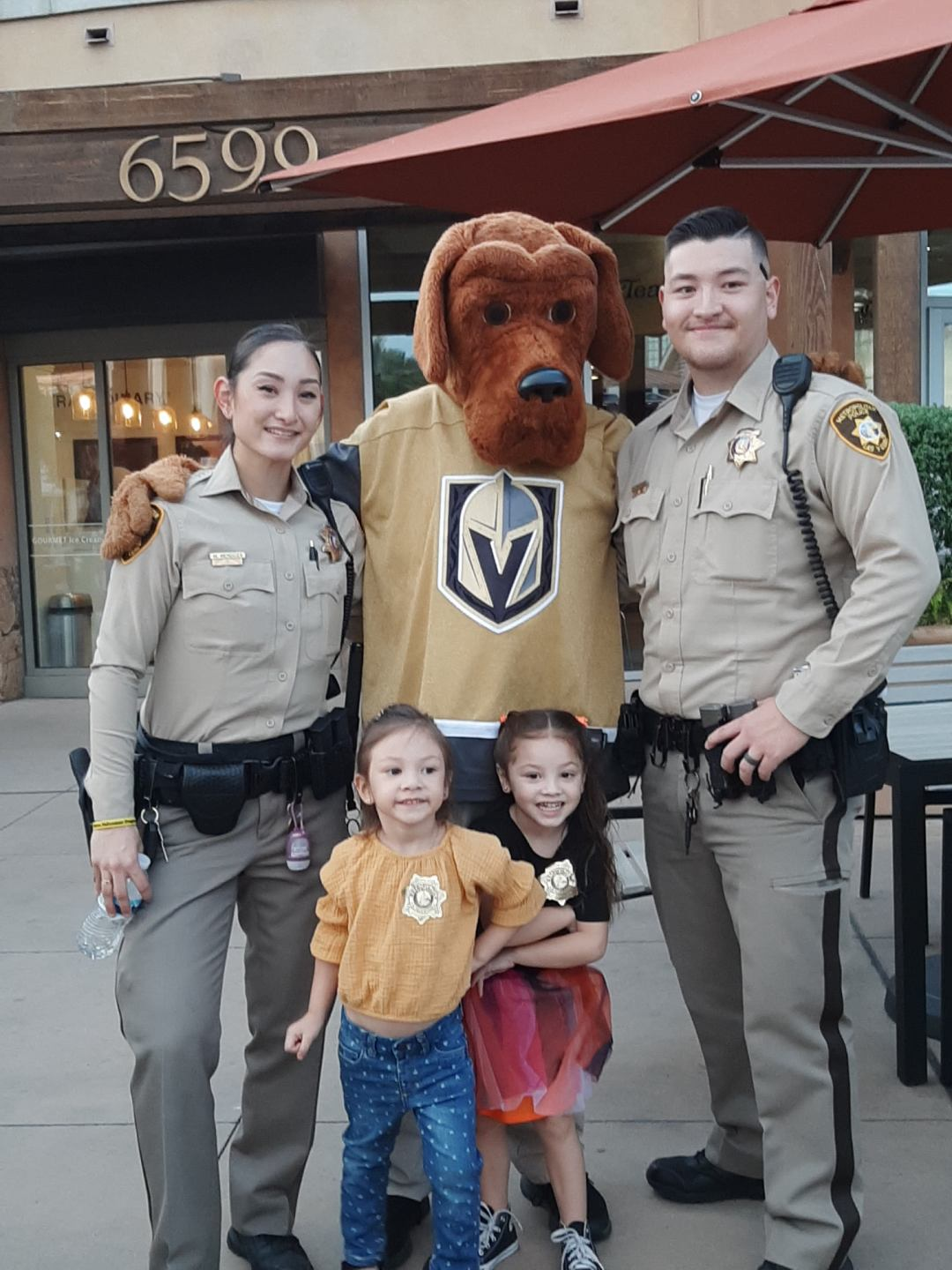 LVPD out for downtown summerlin national night out