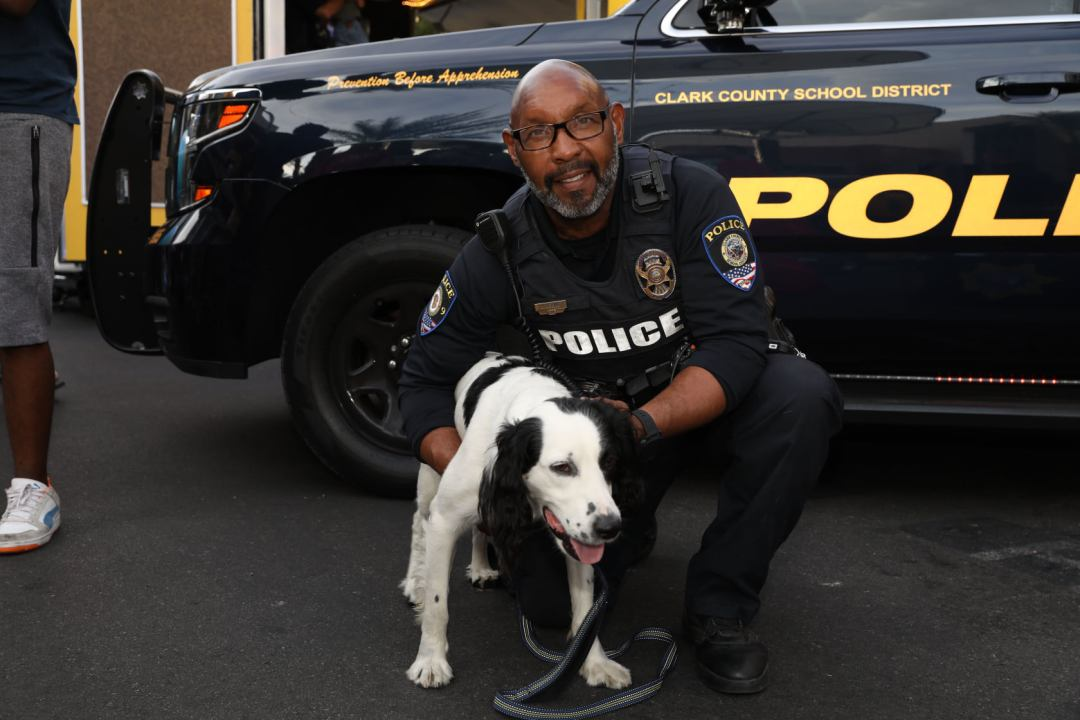 LVPD and K-9 national night out in summerlin