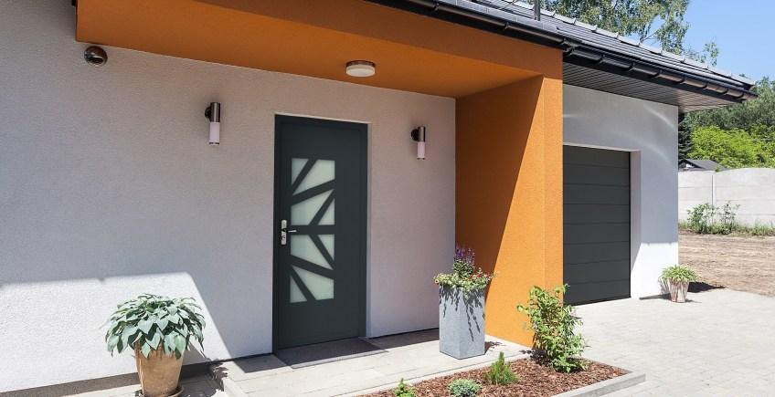 Puerta de seguridad eficiente para viviendas