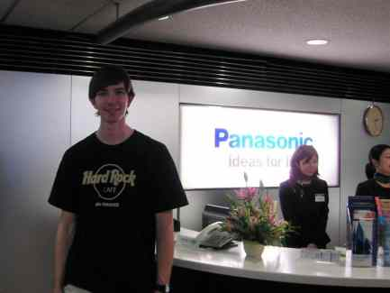 Vanderburg at Panasonic