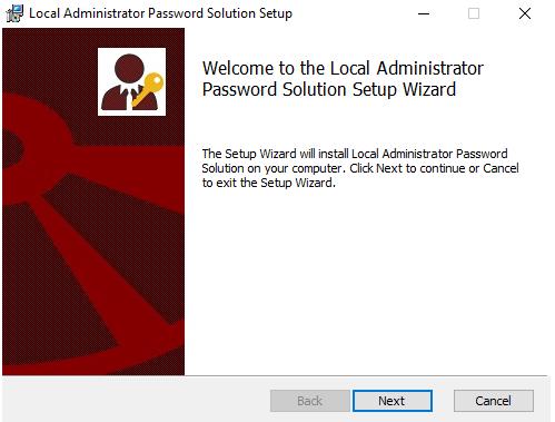 LAPS installer