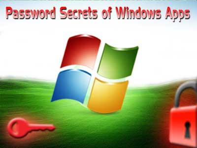 Password Secrets of Popular Windows Applications | smiuchin