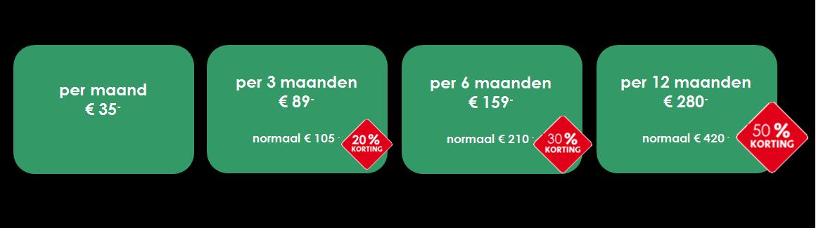 Website huren of kopen