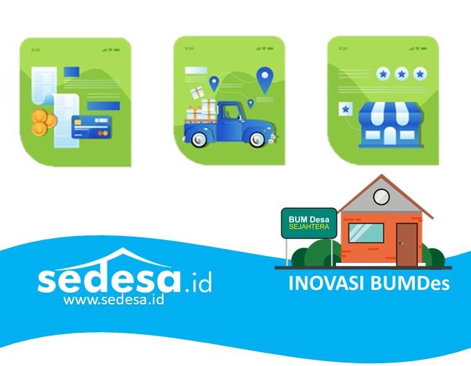 Ilustrai Sedesa.id Inovasi Bumdes