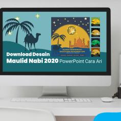 Download Desain Maulid Nabi 2020 PowerPoint