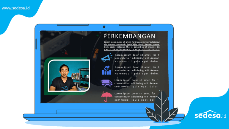 Template Video Pembelajaran PowerPoint