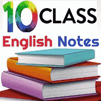 10th Class English Book Solved Study Notes