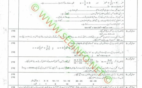 Matric-Code-248-AIOU-Past-Papers-Spring-2010