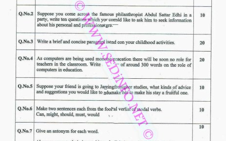 AIOU-BCOM-Code-1423-Past-Papers-Autumn-2014