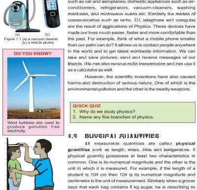 Download 9th Class Physics Book