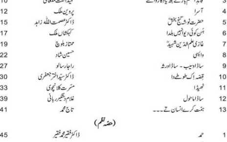 Punjabi-9th-10th-book-contents-page