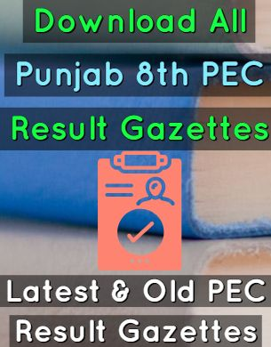 download-8th-pec-result-gazettes-of-all-Punjab-fi