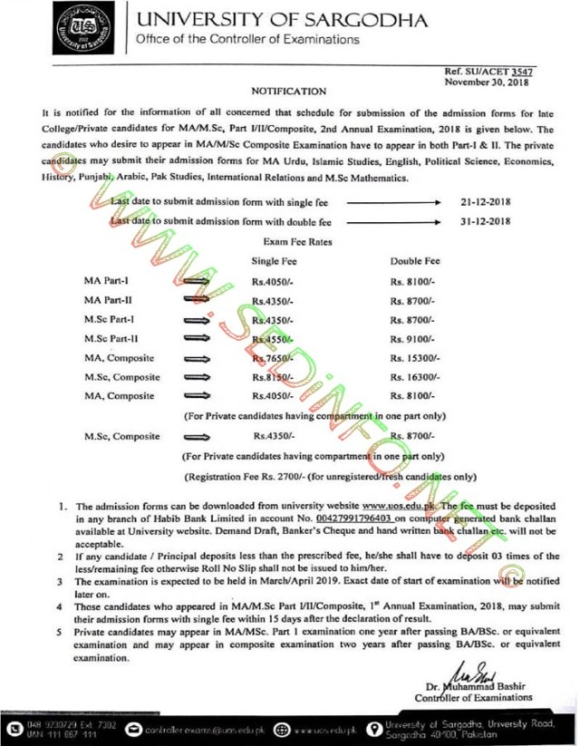 UOS-admission_ma_msc_2nd_annual_2018
