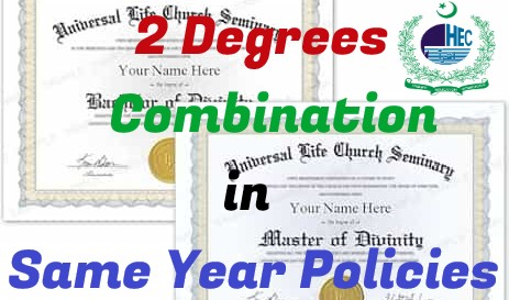 Two Degrees in Same Year Session