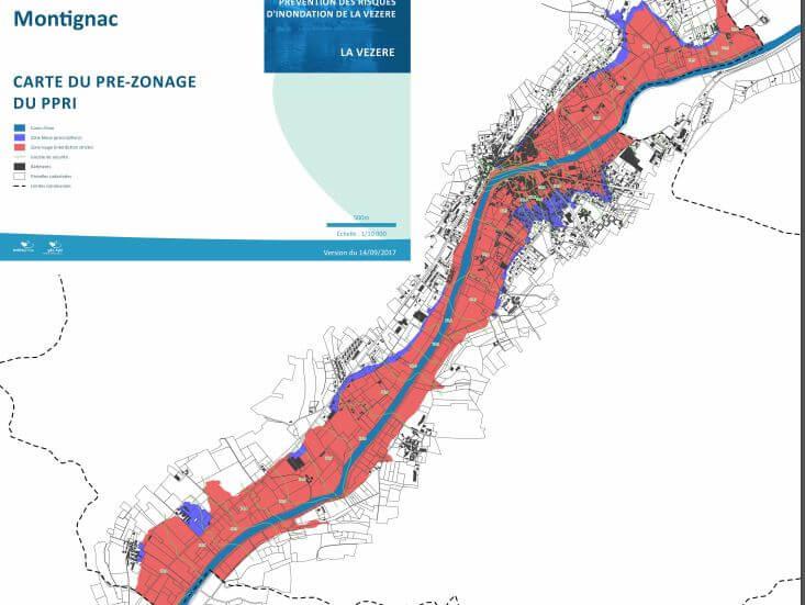 photo zone inondable Montignac