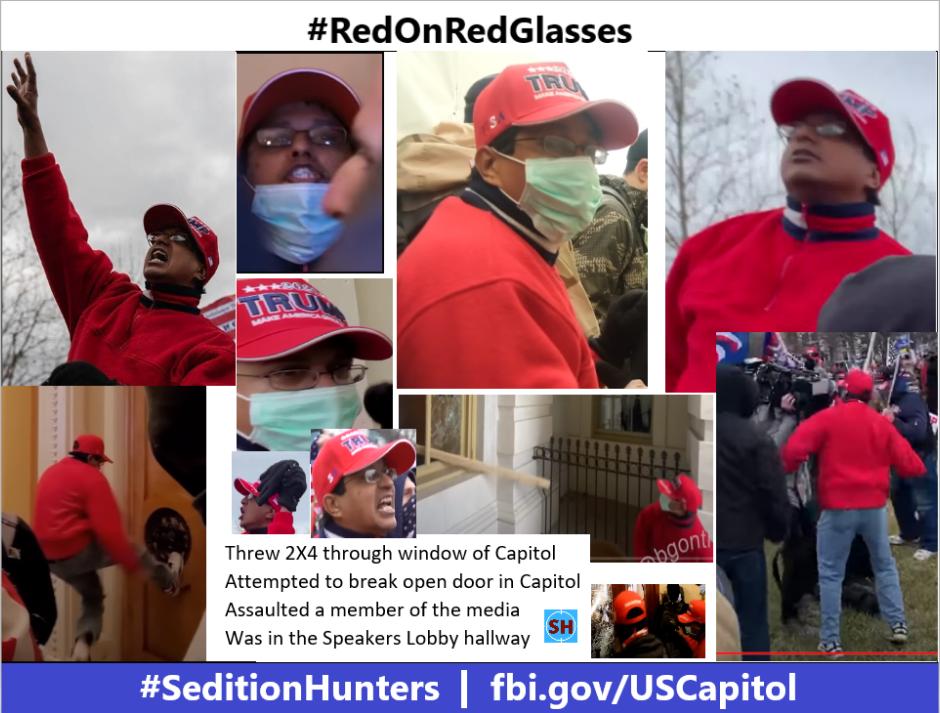 300-Photo #RedOnRedGlasses