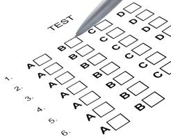 Examination test list