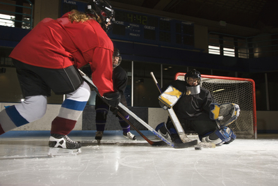 Interested in learning to skate and play ice hockey?