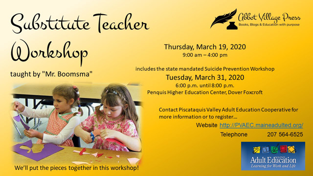 Want to substitute teach at SeDoMoCha? Check out this training!