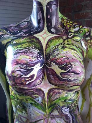 Heart Goddess detail
