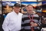 Mayor Rob Adams present Scott McCormick with First Place in Photography.