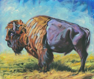 Brian_Myers_Buffalo_Painting
